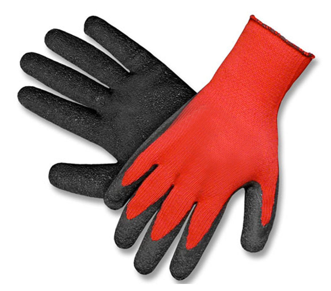 Pracovní rukavice LEROS máčené latex PE vel.10  c65fcdb2d6